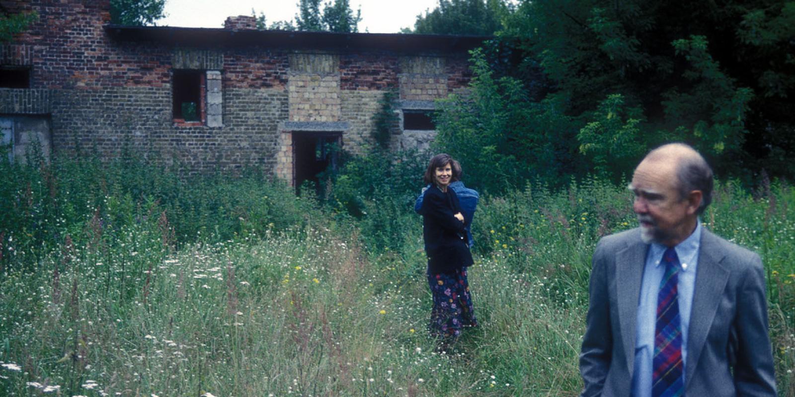 Joan Woodward and John Lyle in 1993