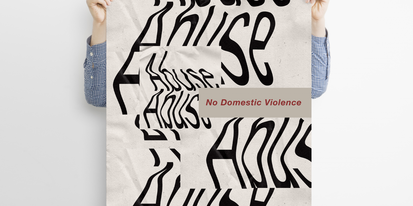"""""""Gaslighting: No Domestic Violence"""", Artist: Amber Wei, """"Poly-Kroma 2020"""" Exhibition"""