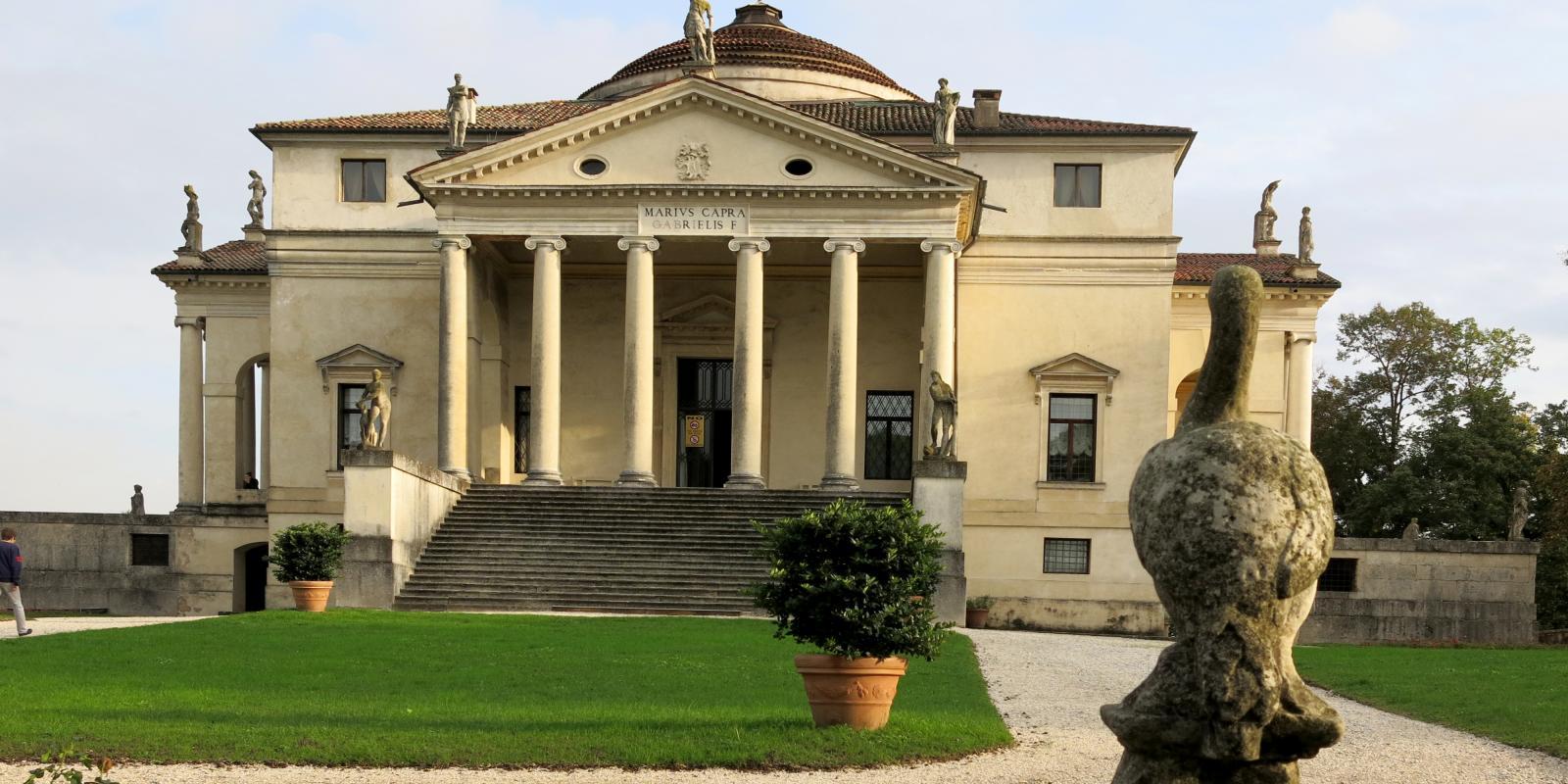Palladio's Villa Rotunda, Vicenza, Italy