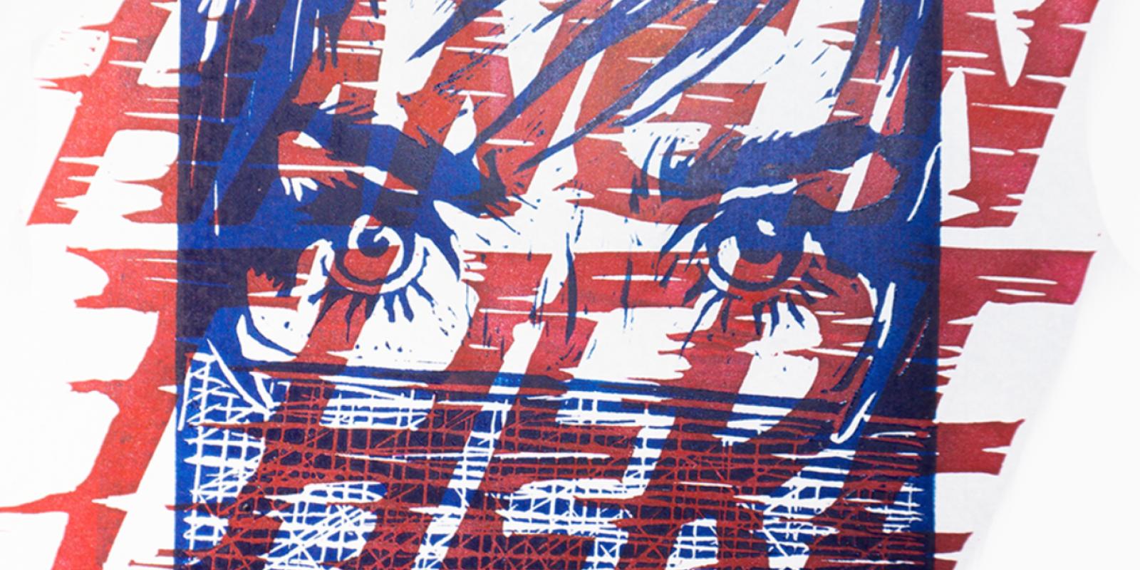 """""""Untitled"""", Artist: Noah Cervantes, """"Poly-Kroma 2020"""" Exhibition"""