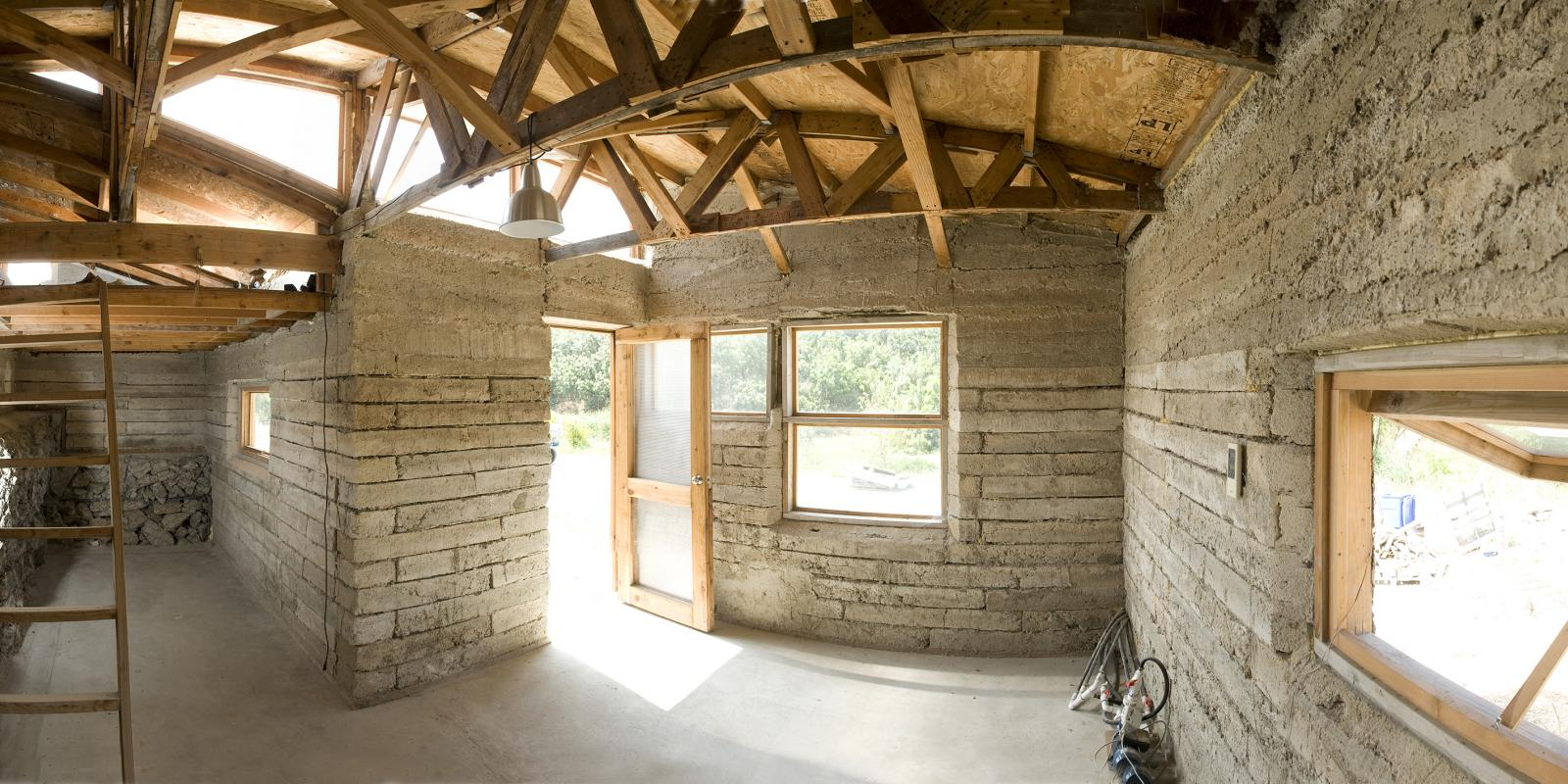 Interior of the TJ House,  2008 Prize for Creative Integration of Practice and Education, National Council of Architectural Registration Boards