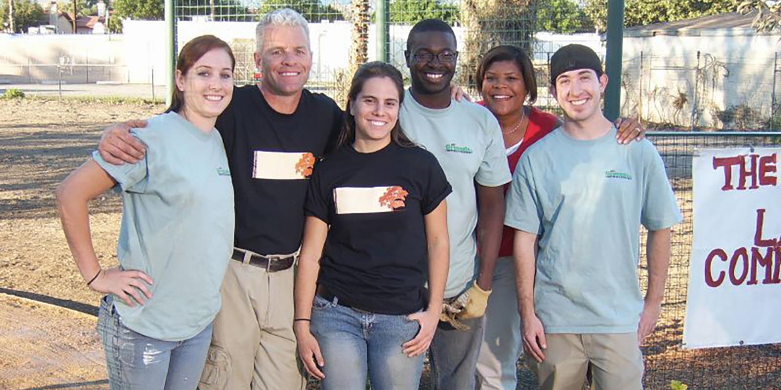 CPPLA students providing public service.