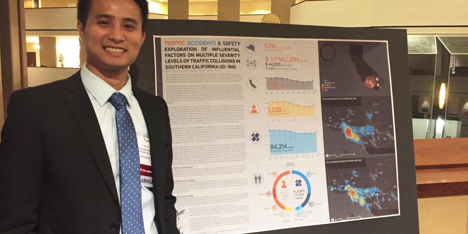Tom Vo ('13, B.URP), associate regional planner, Southern California Association of Governments