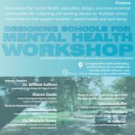 Designing Schools for Mental Health Flyer