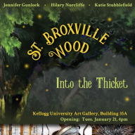 Broxville Wood: Into the Thicket