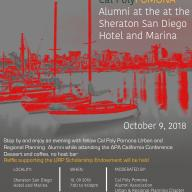 URP Alumni Chapter Mixer at the Sheraton San Diego - October 9, 7-9pm