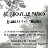 """""""Rumbles and Thrums"""" 