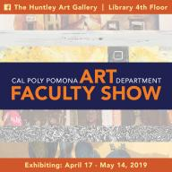 Faculty Show graphic