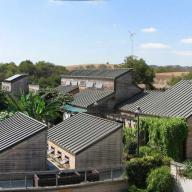 Lyle Center for Regenerative Studies, rooftop view