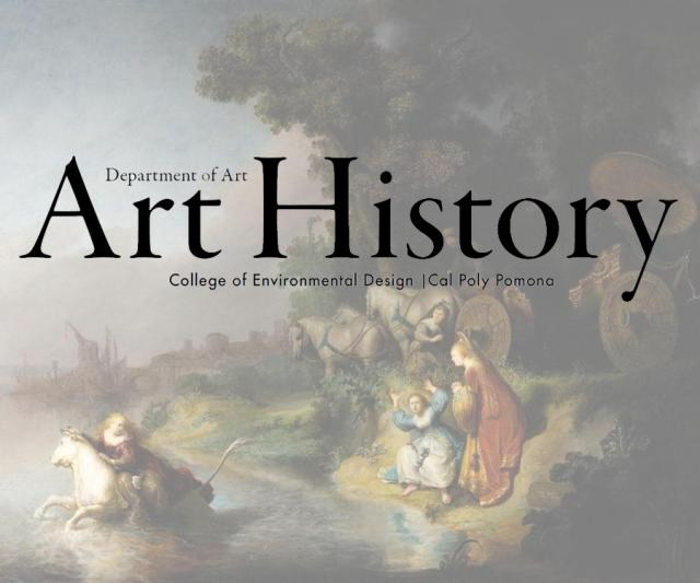 The Art History Newsletter is published by art history faculty. (Background image - 'The Abduction of Europa,' Rembrandt, 1632)