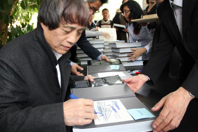 Tadao Ando (Neutra Medal 2012) at Cal Poly Pomona