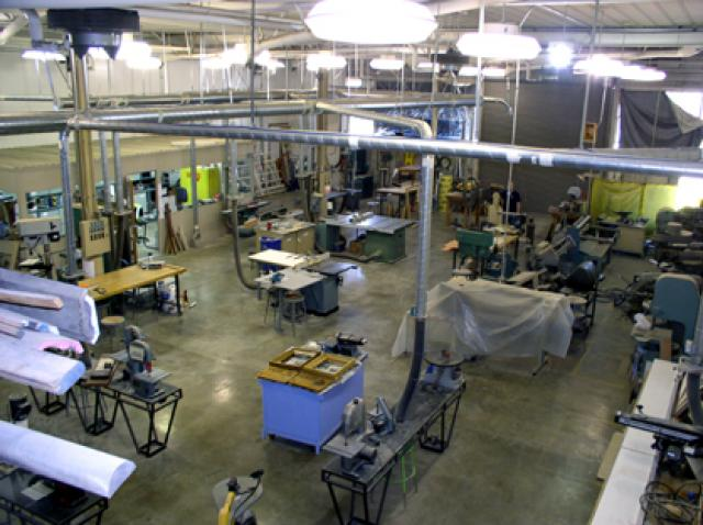 College of Environmental Design Model Shop, Building 45