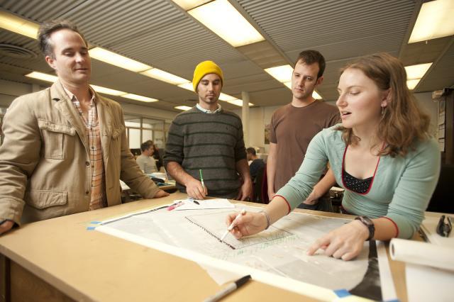 Landscape architecture graduate students