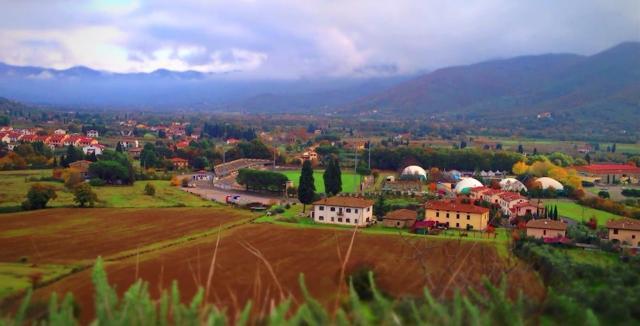 Students enrolled in LA 401L, the Italy Program, study for a full semester at Castiglion Fiorentino, Italy.
