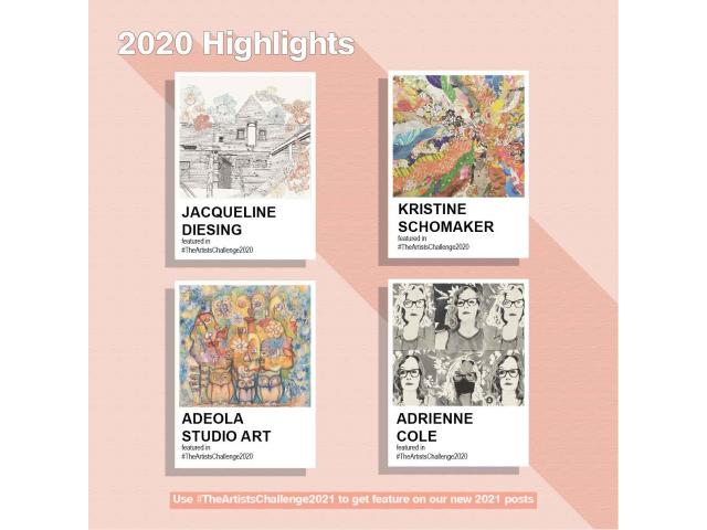 # The Artists Challenge 2021