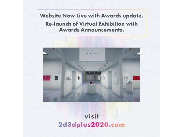 2D3D+ 2020 Award Winners