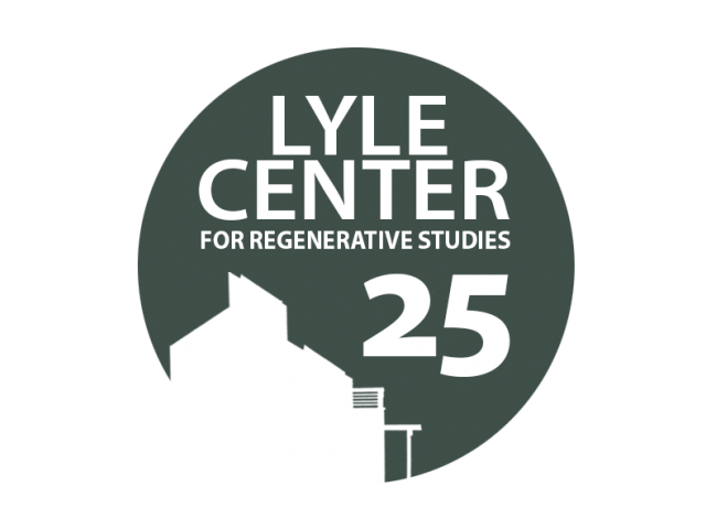 Lyle Center's 25th Anniversary logo