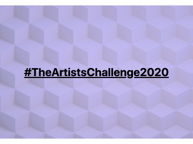 Join #TheArtistsChallenge2020