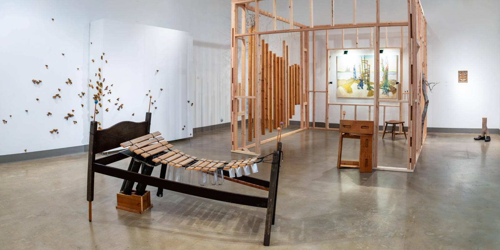 Current 2020 Exhibition - St. Broxville Wood: Into the Thicket