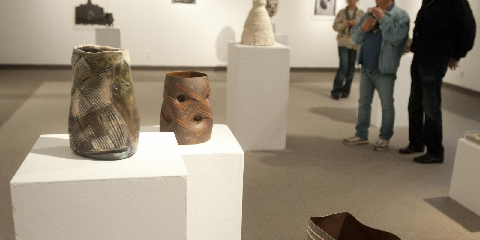 Ink and Clay 37, an exhibition of prints, ceramics and drawings, March 2011