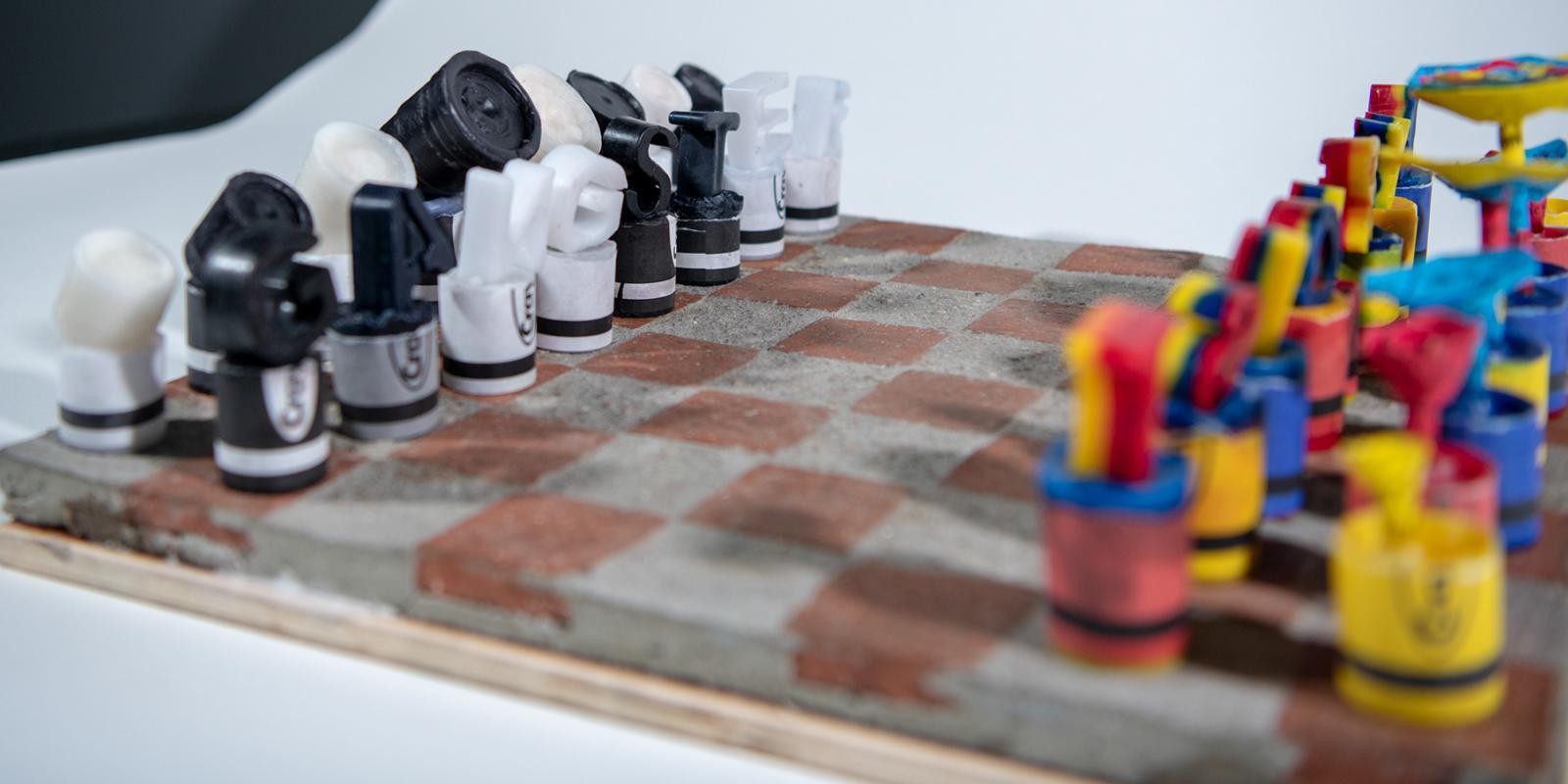 """Pacboard"", Artist: Alfredo Gonzales, ""Poly-Kroma 2020"" Exhibition"