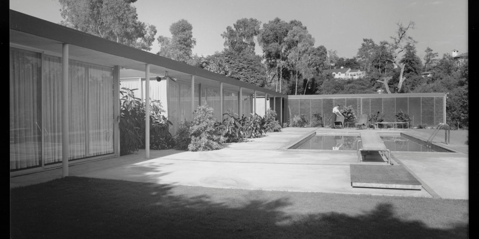 Curtis House, 1950. © J. Paul Getty Trust. Getty Research Institute, Los Angeles (2004.R.10)