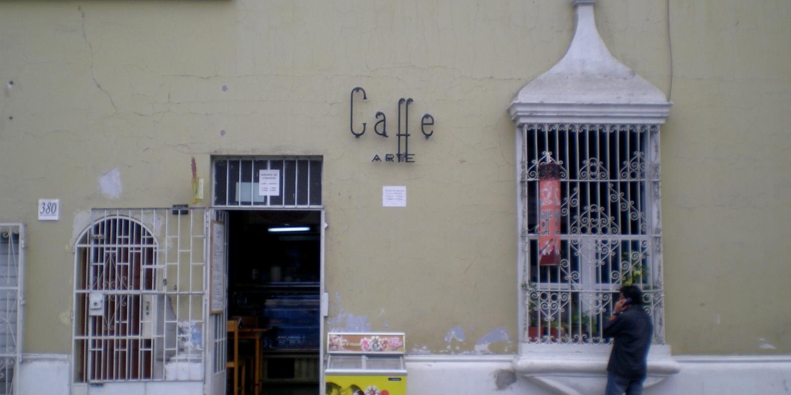 Caffe Arte, Trujillo, Peru (2008)