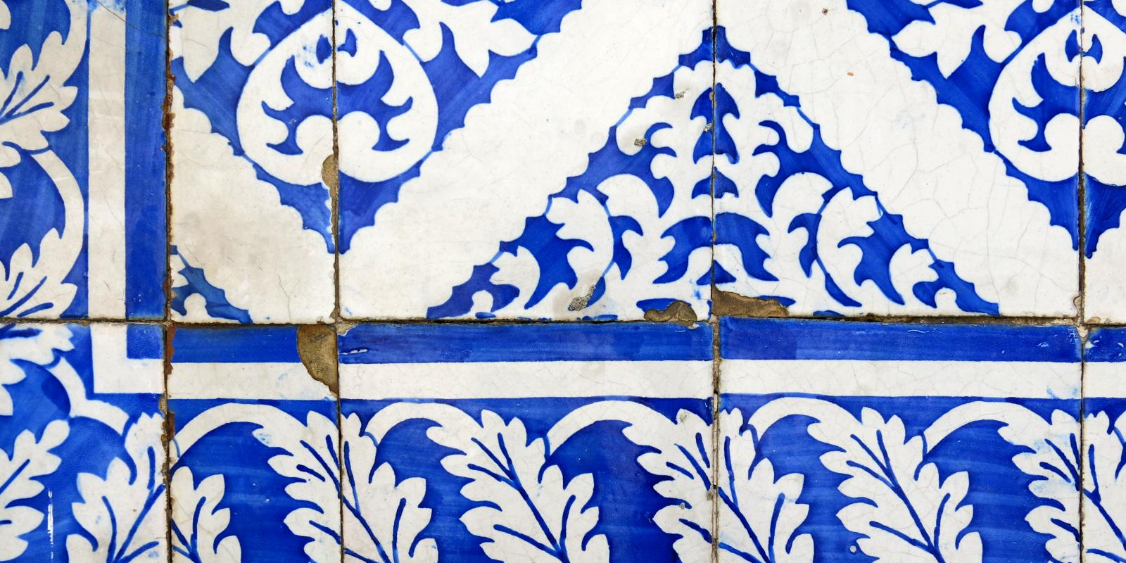 Wall Tiles in Lisbon Portugal, (2013)