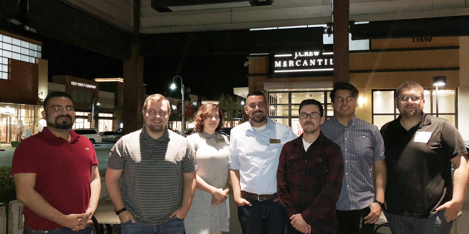 Spring 2018 Dinner with a Planner at PF Chang's in China, CA