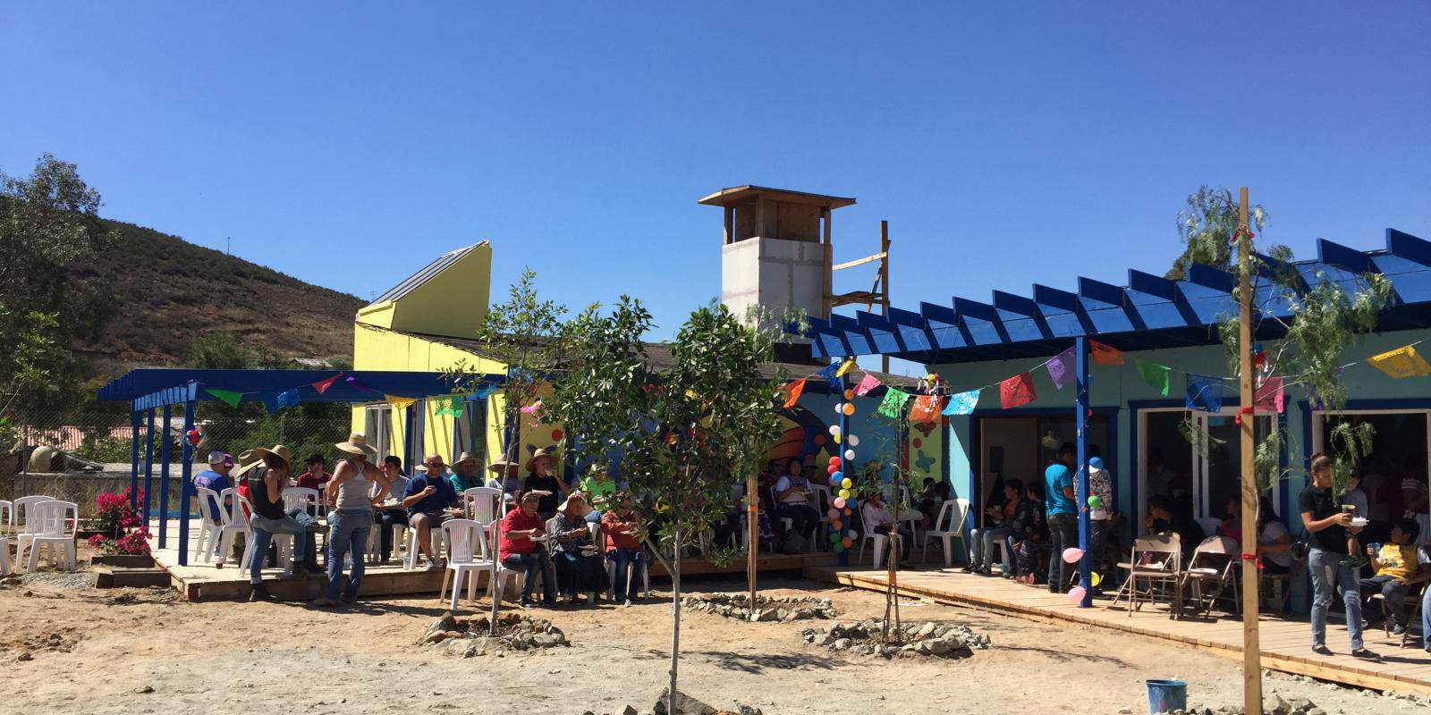 The TJ House prototype laid the foundation for the Cerro Azul Community Center constructed in 2016