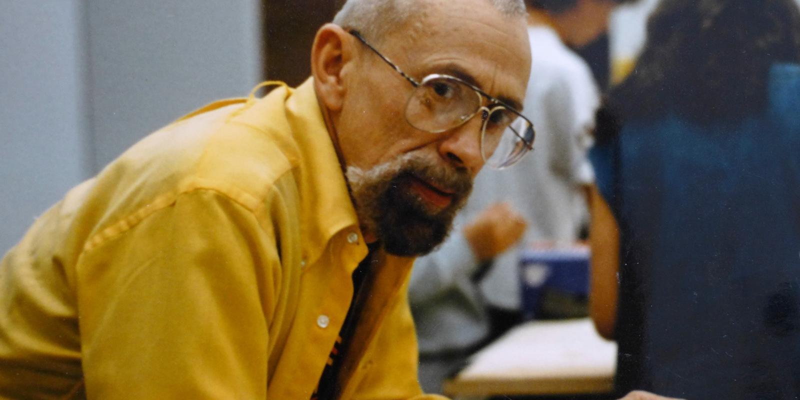 Professor Emeritus Paul Helmle (Image courtesy of Nicholas Pyle)