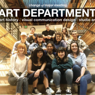 The Department of Art will host its Change of Major meeting for Spring 2021 on February 16 at 12 p.m.