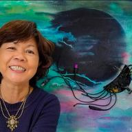 CPP art lecturer, Ann Phong, showcases solo exhibition at John Wayne Airport