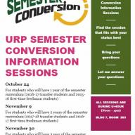 Conversion Information Session