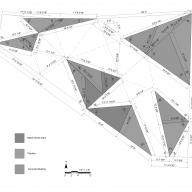 Between Sky and Ground: A Cooling Pavilion Technical Drawing