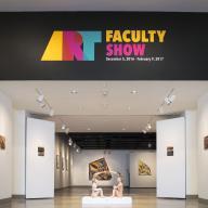 Art Faculty Art Show at the Kellogg University Art Gallery. Dec. 5, 2016-Feb. 9, 2017.