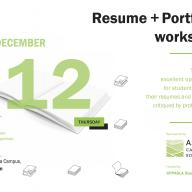 The CPP student chapter of ASLA is sponsoring a resume and portfolio workshop to prepare students for Firm Day 2020