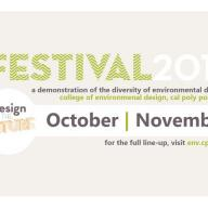 ENV Festival 2017 demonstrates the diverse design issues and enterprises shaping the work of students, faculty, staff and alumni.
