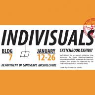 IndiVISUALS Sketchbook Exhibit, Jan. 12-26 at Bldg. 7 Gallery