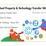 Intellectual Property Workshop - Oct. 23, 2018