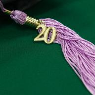 College of Environmental Design cap and lilac tassel (Image by Monica Pignotti/CPP Foundation, Inc.)