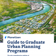 Cover: Planetizen Guide to Graduate Urban Planning Programs (6th Edition)