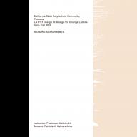 LA6111L - Reading Assignments