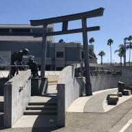 The Japanese Fishing Village Memorial at Terminal Island