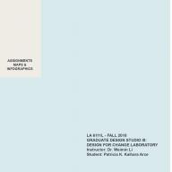 LA6111 - GIS Maps and Infographics