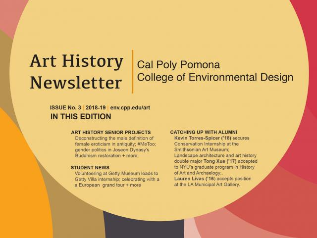 CPP Art History Newsletter, Issue 3