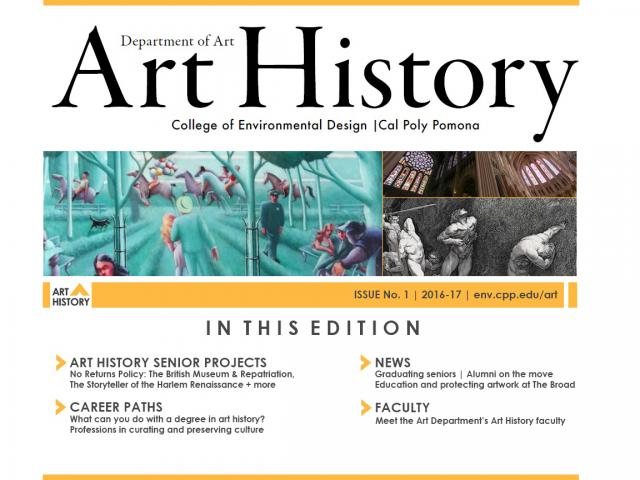 Art History Newsletter, Issue 1