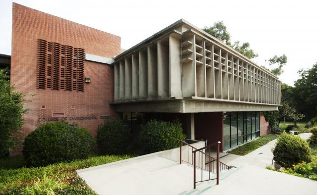 College of Environmental Design, Building 7 exterior