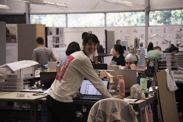 Hana Lemseffer (B.Arch, '17), Interim Design Center, Bldg. 89.