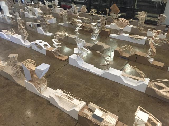 Third year Tectonic Studio models